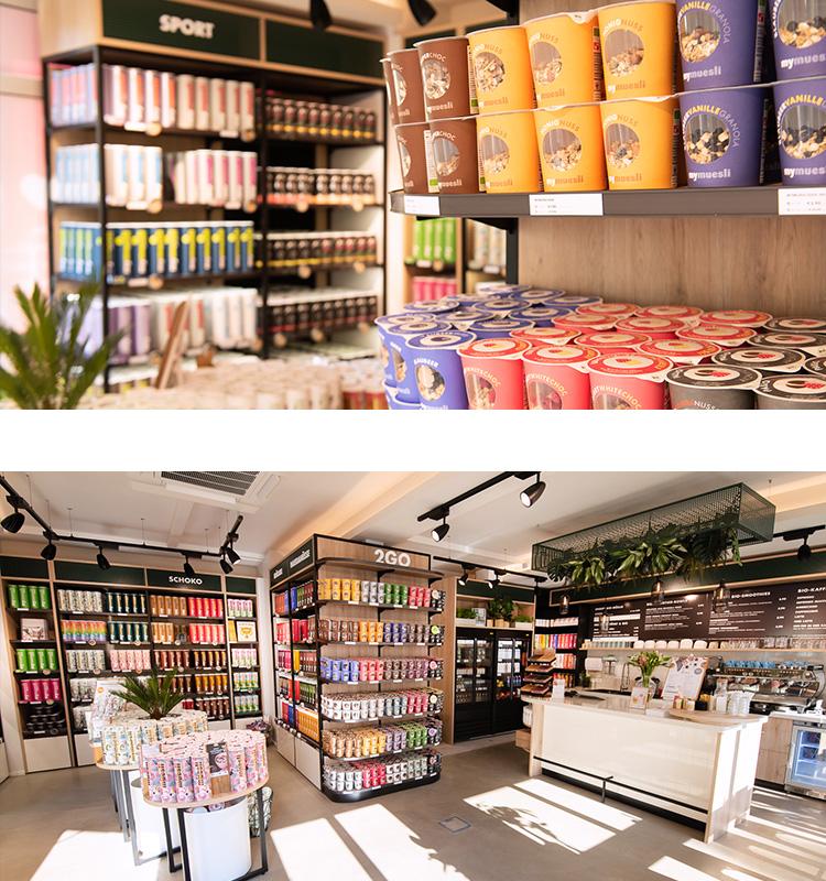 Müesli kaufen in einem von 35 Müesli-Läden