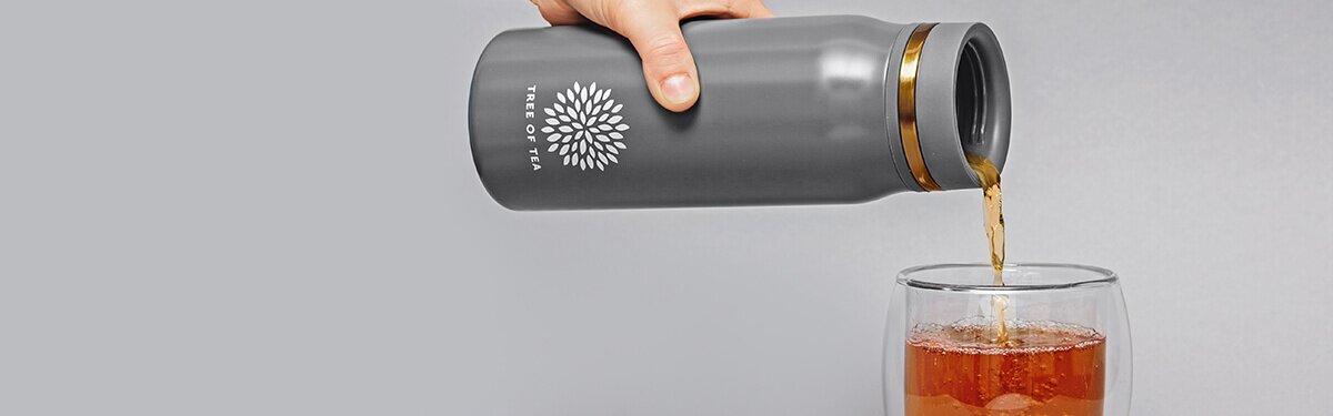 Thermo Bottle 2go mit integriertem Sieb