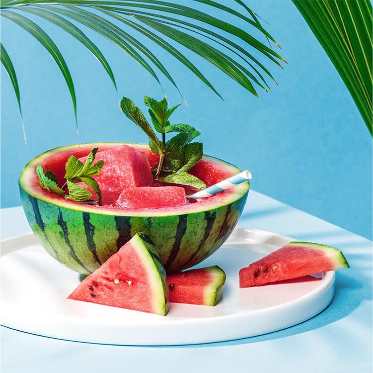 Roi Melon mit Roi Lemon Rooibostee