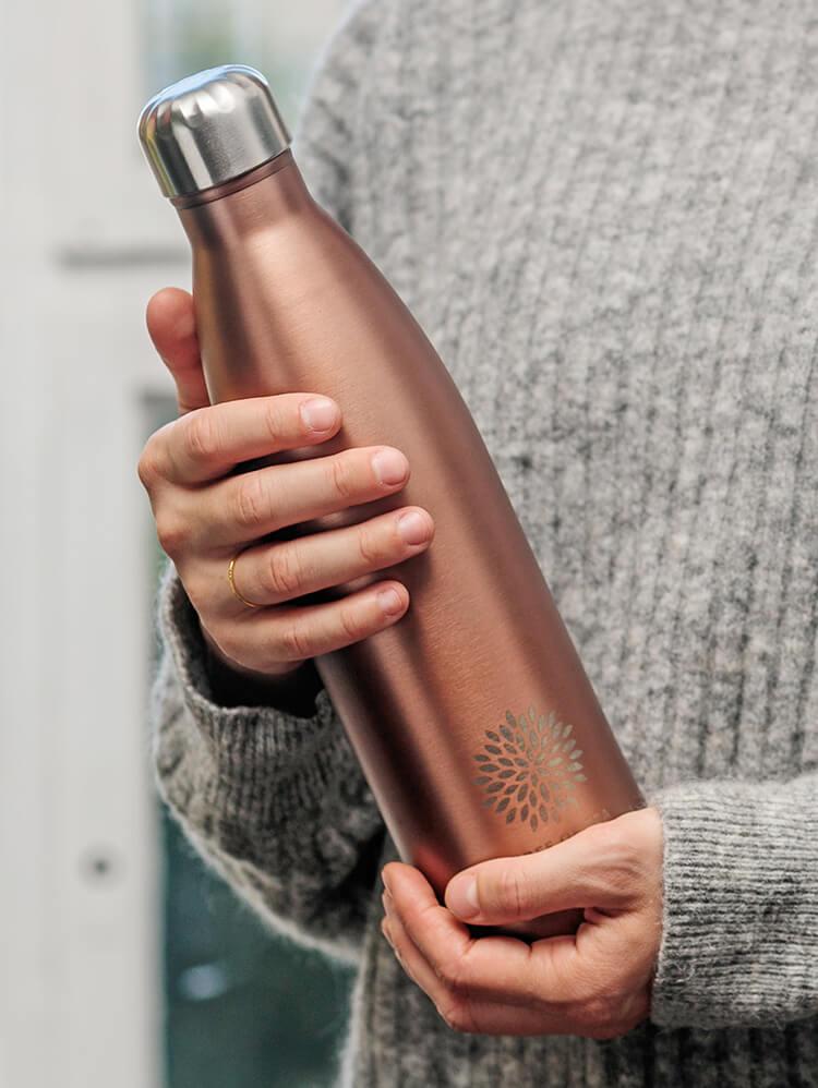 Die praktische Thermo Bottle für perfekten Teegenuss