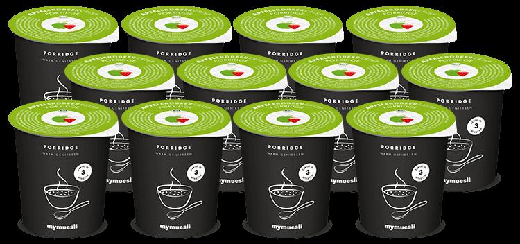 Porridge-Genuss zum Mitnehmen