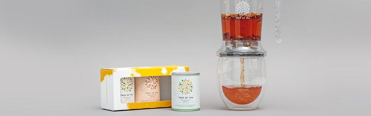 Der Tea Maker im Set mit 3 frühlingshaften Tees