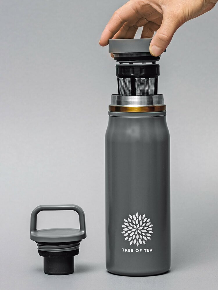 Die praktische Thermo Bottle 2go für frisch aufgebrühten Teegenuss