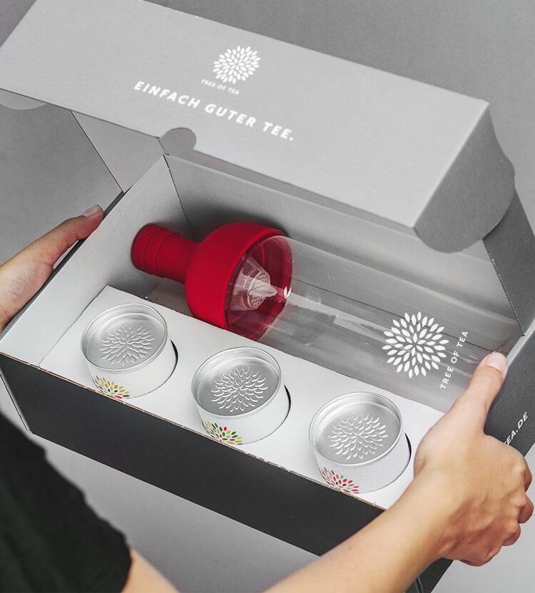 Das perfekte Geschenkset für alle Teeliebhaber