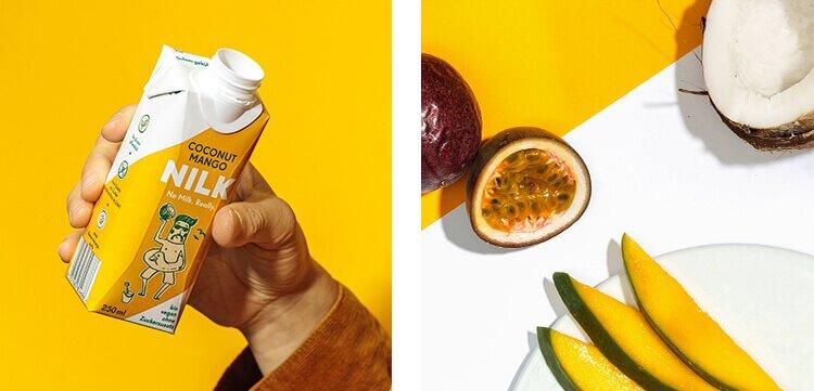 Bio und rein pflanzlich: Nilk2go mit Coconut Mango Geschmack.