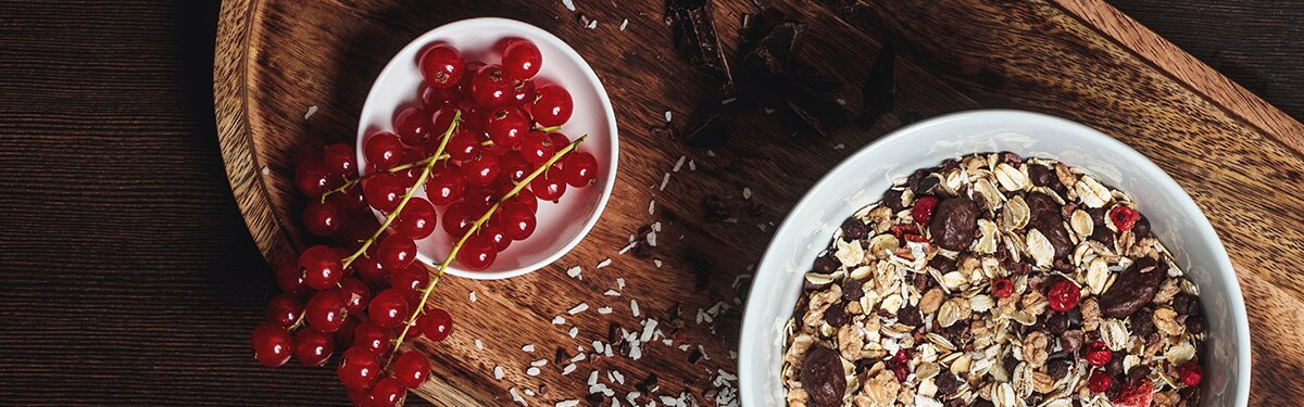 Veganes Schoko-Müsli mit Quinoa-Crunchy