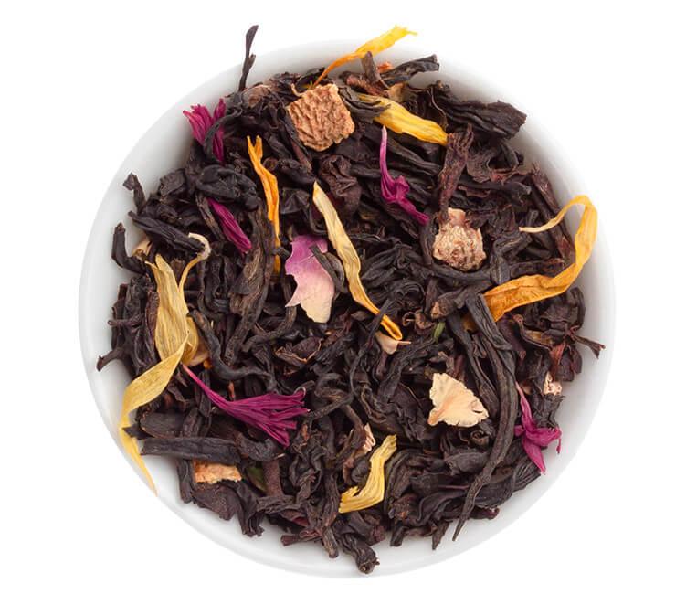 Schwarztee mit natürlichem Bergamotte-Aroma.