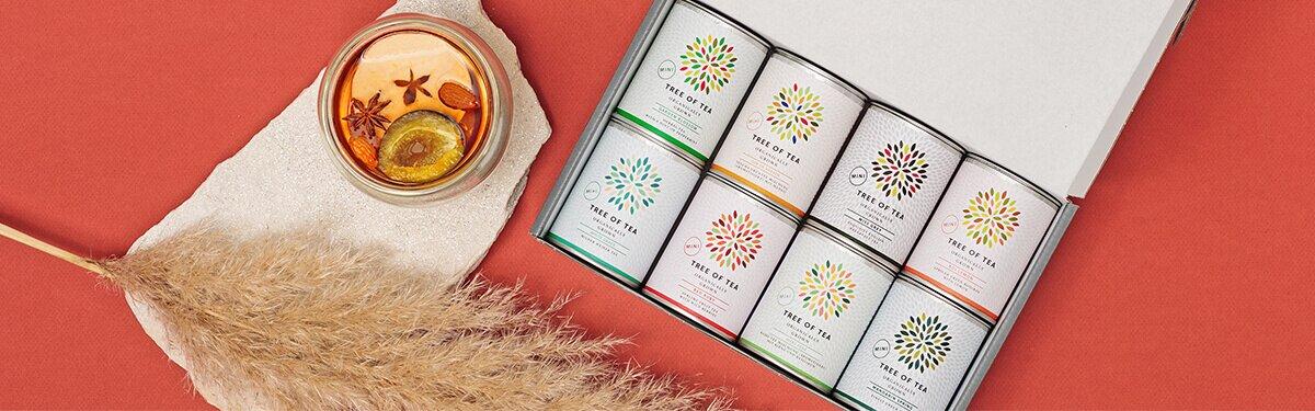 Tolle Tee-Probierpakete von Tree of Tea