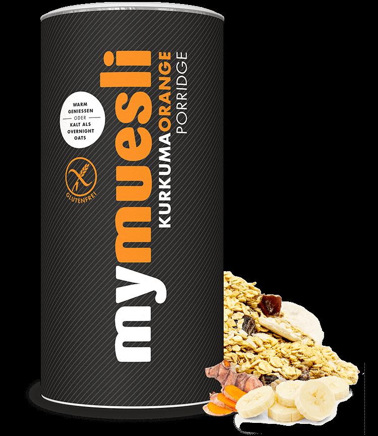 Kurkuma-Orange-Porridge für Dein herzerwärmendes Frühstück