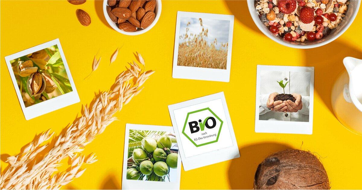 Unsere Zutaten: Bio und lecker.