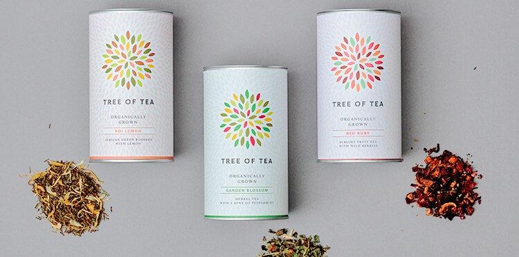 Verschiedene Teesorten aus der Bunten Mischung