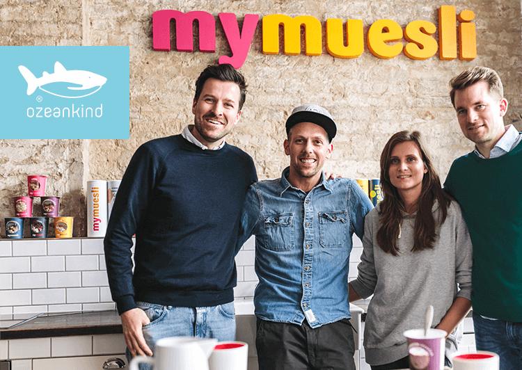 mymuesli Gründerteam mit Marina und Micha von Ozeankind