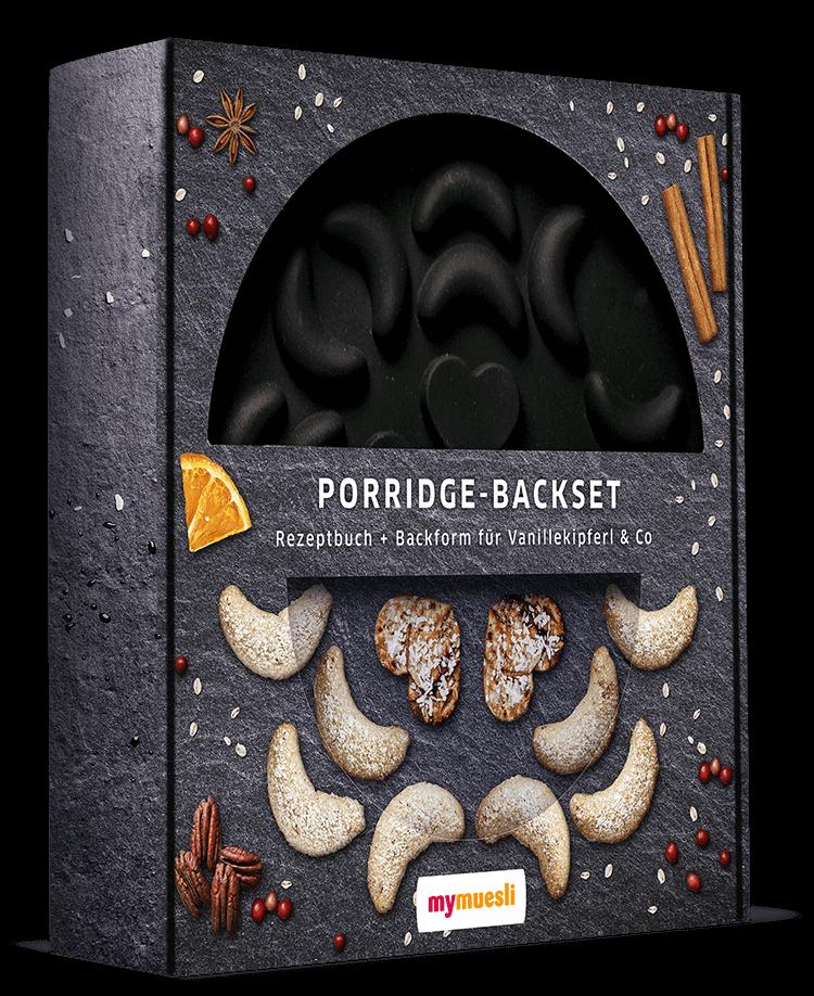 Das Porridge-Backset von mymuesli – ideal für die Weihnachtsbäckerei