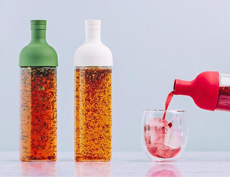 Die perfekte Eisteeflasche für die Zubereitung von Cold Brew Eistee