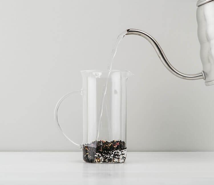 Die richtige Temperatur ist sehr wichtig für die perfekte Zubereitung des Tees.