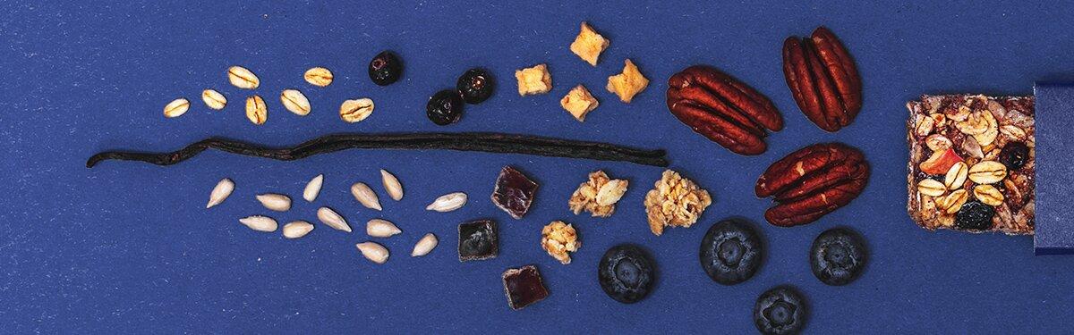 Viele Bio-Früchte und eine feine Vanillenote.