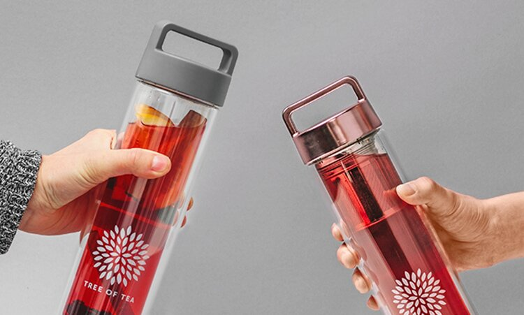 Infused Tea mit der 2go Bottle