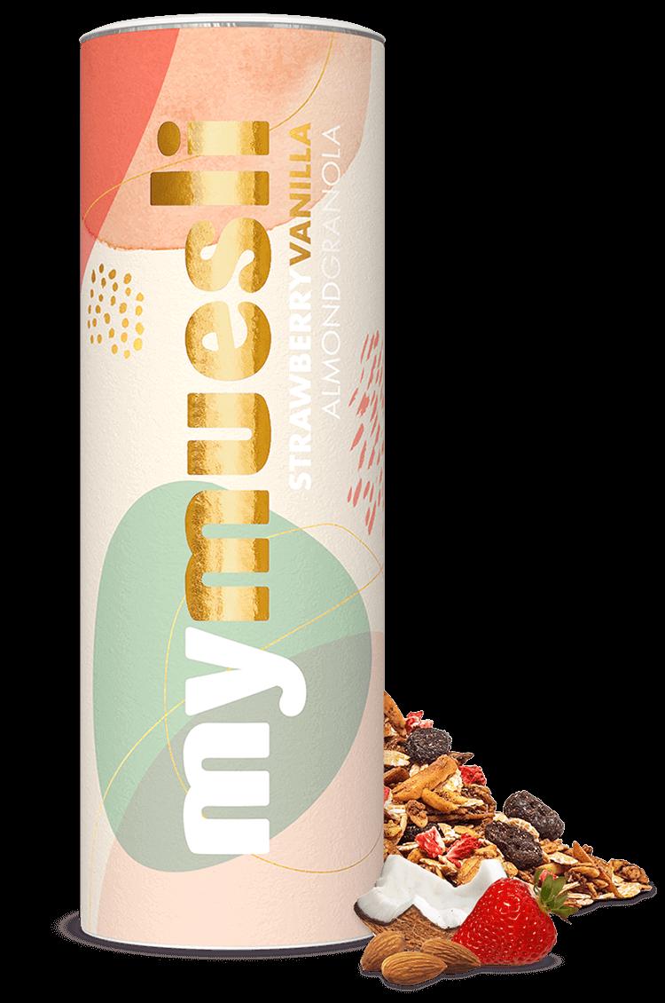 Strawberry Vanilla Almond Granola Dose