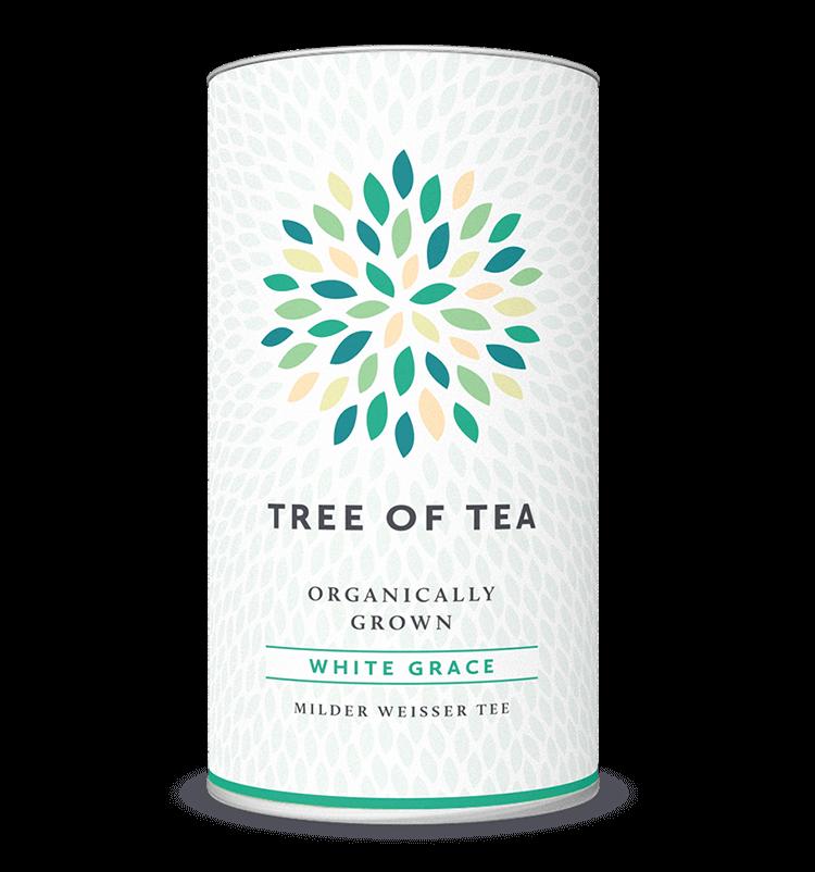 White Grace leichter, erfrischender Weißer Tee