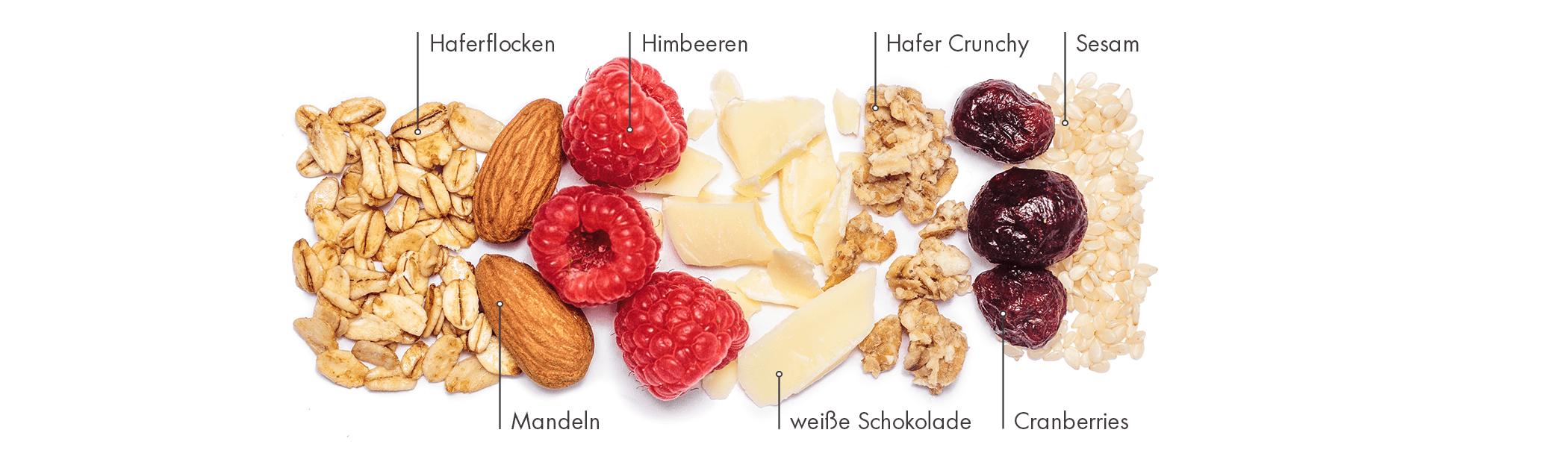 Leckerer Müsliriegel für den schnellen Snack im Büro oder nach dem Sport.