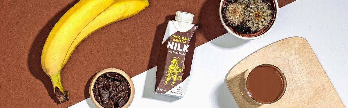 Schokolade trifft Banane in der neuen Nilk2go
