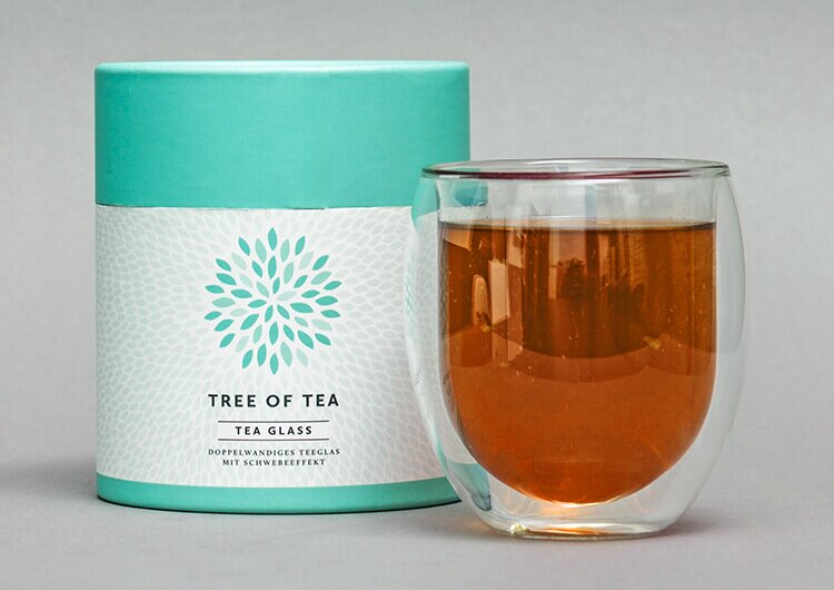 Tee stilvoll servieren und genießen mit unserem Teeglas