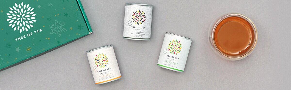 Unsere Tee Minis in einer schönen Weihnachtsbox