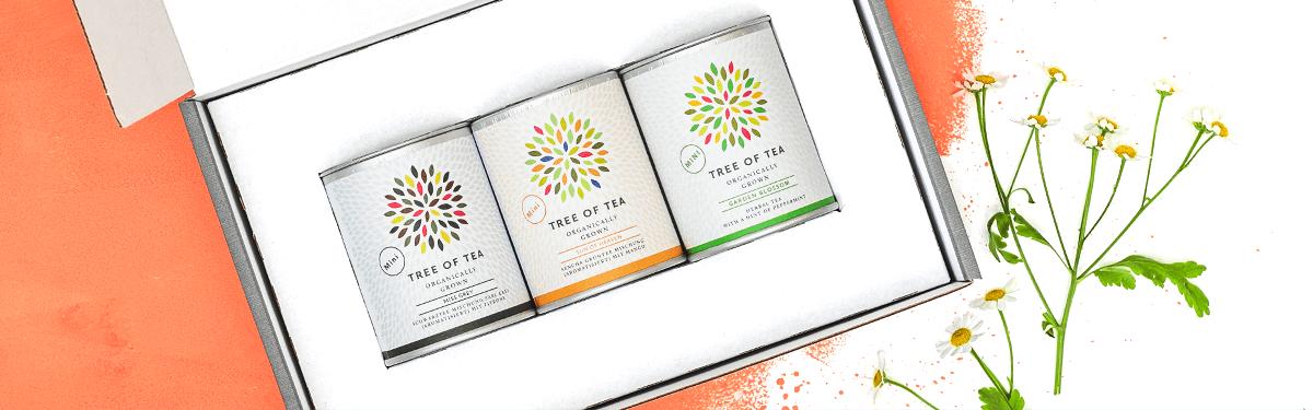 Leckere Tee-Minis in einer hübschen Geschenkbox
