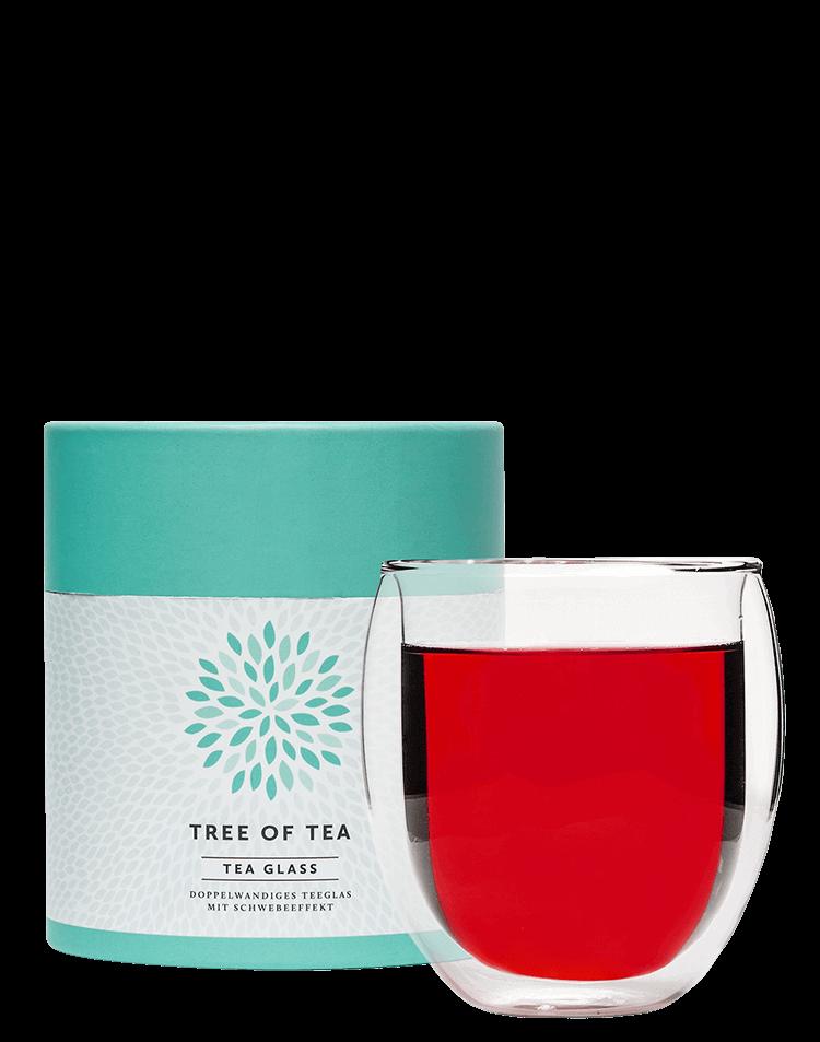 Doppelwandiges Teeglas für besten Teegenuss