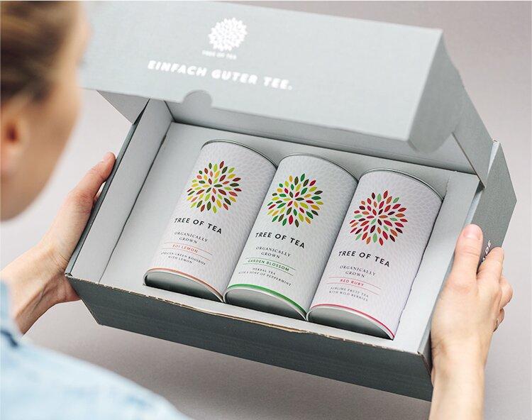 Bio-Tee aus nachhaltiger Landwirtschaft.