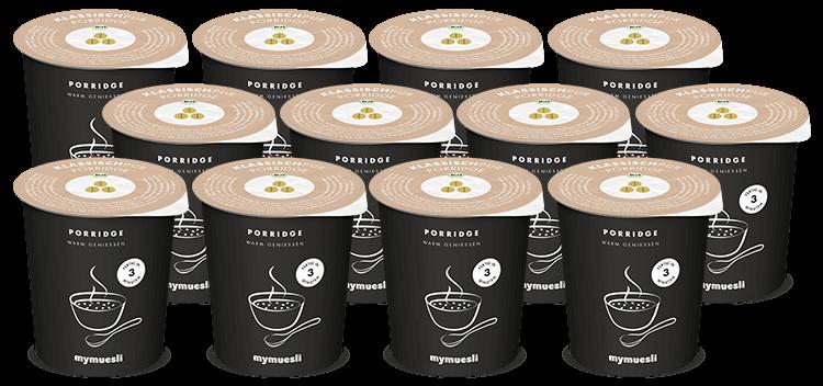 Feinste Porridge-Haferflocken zum Mitnehmen