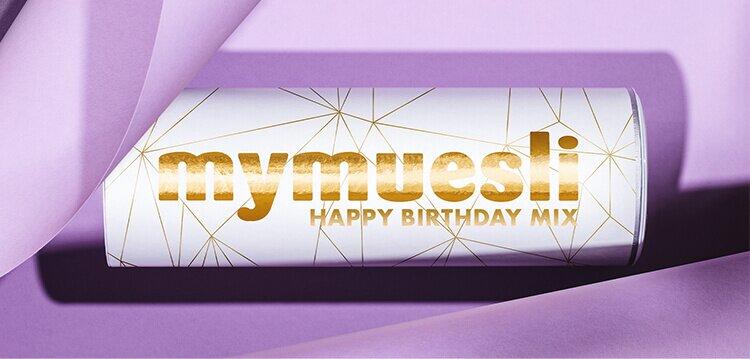 Happy Birthday Mix - zum 12-jährigen Jubiläum von mymuesli