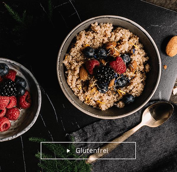 Glutenfreier Porridge mit Quinoa