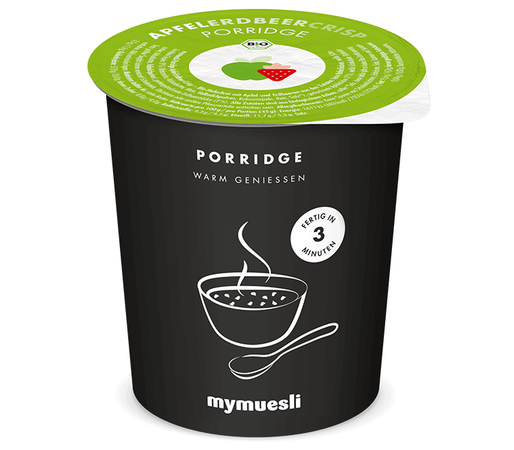 Bio-Porridge to go