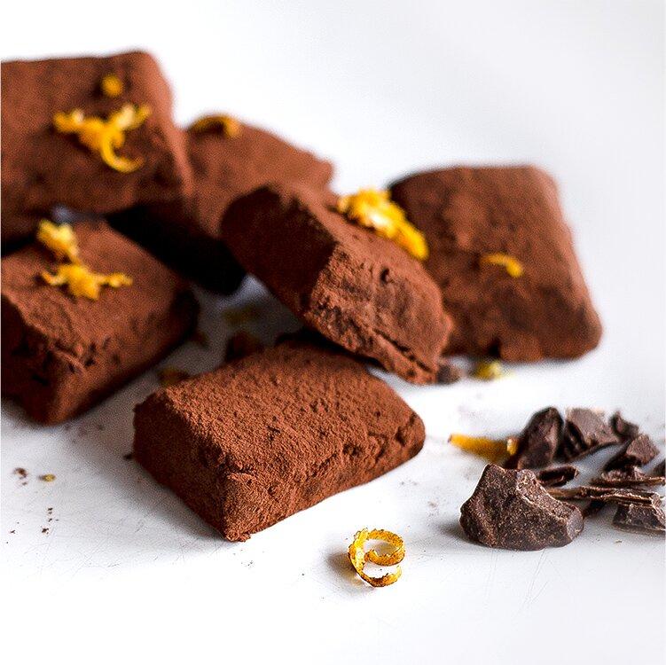 Leckeres Schokoladenkonfekt mit Miss Grey zaubern