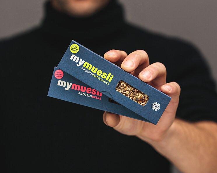 Dein Bio-Proteinriegel für unterwegs