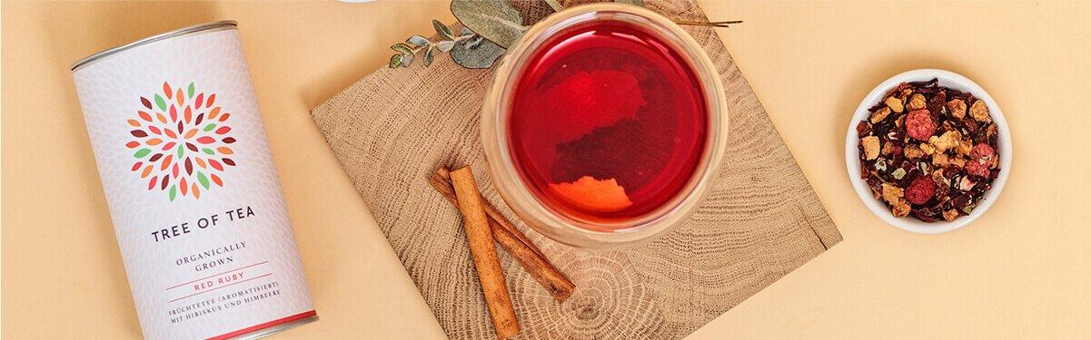 Der Spicy Ruby mit fruchtigem Red Ruby