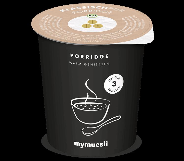 Klassisch-Pur-Porridge von mymuesli