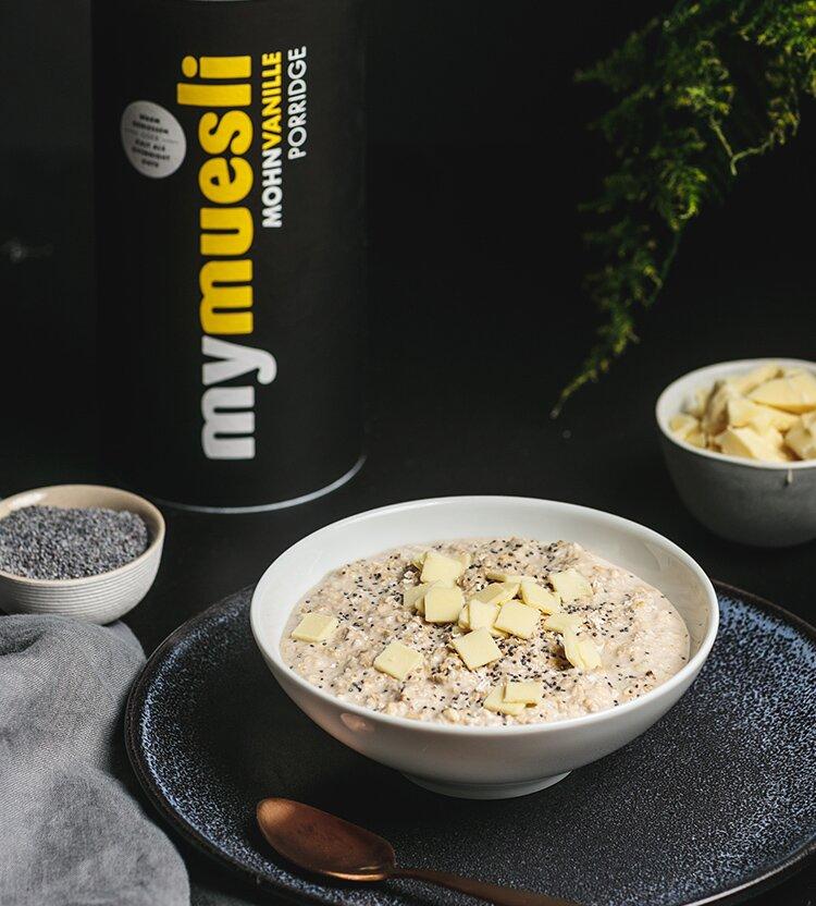 Bio-Porridge mit Vanille-Geschmack