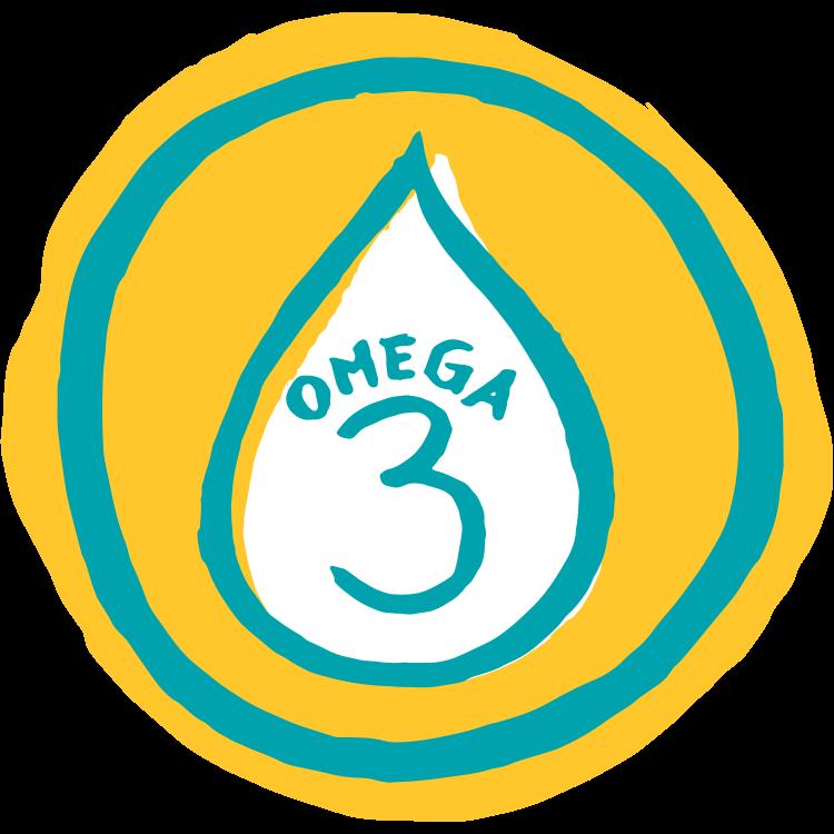 Super NILK ist eine Quelle von Omega-3-Fettsäuren.