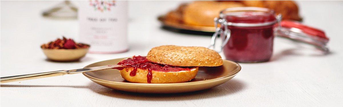 Fruchtige Marmelade mit Red Ruby Früchtetee
