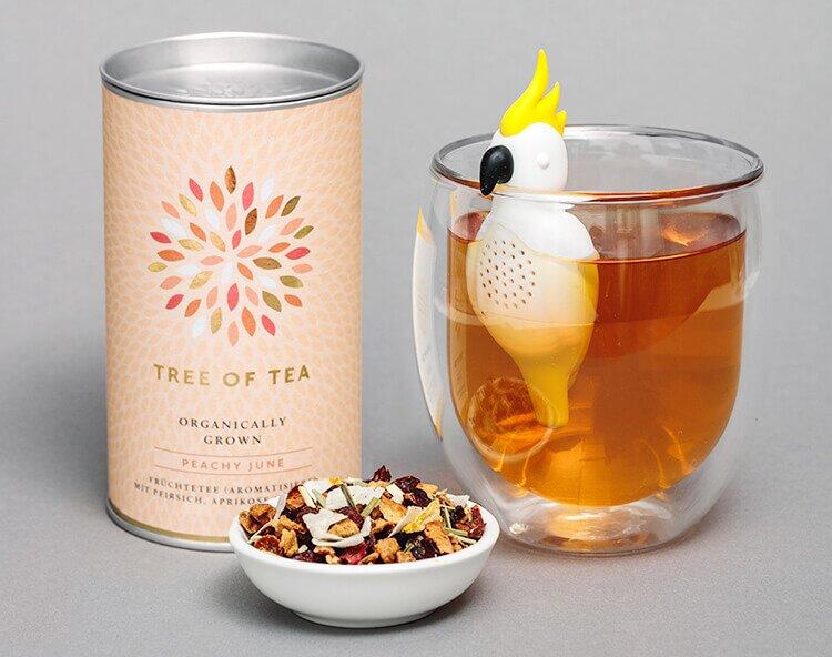 Tee im Nu zubereiten mit dem neuen Kakadu Teesieb
