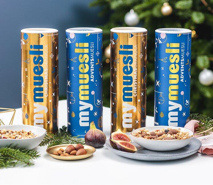 Bio-Müsli als Weihnachtsgeschenk für deine Liebsten.