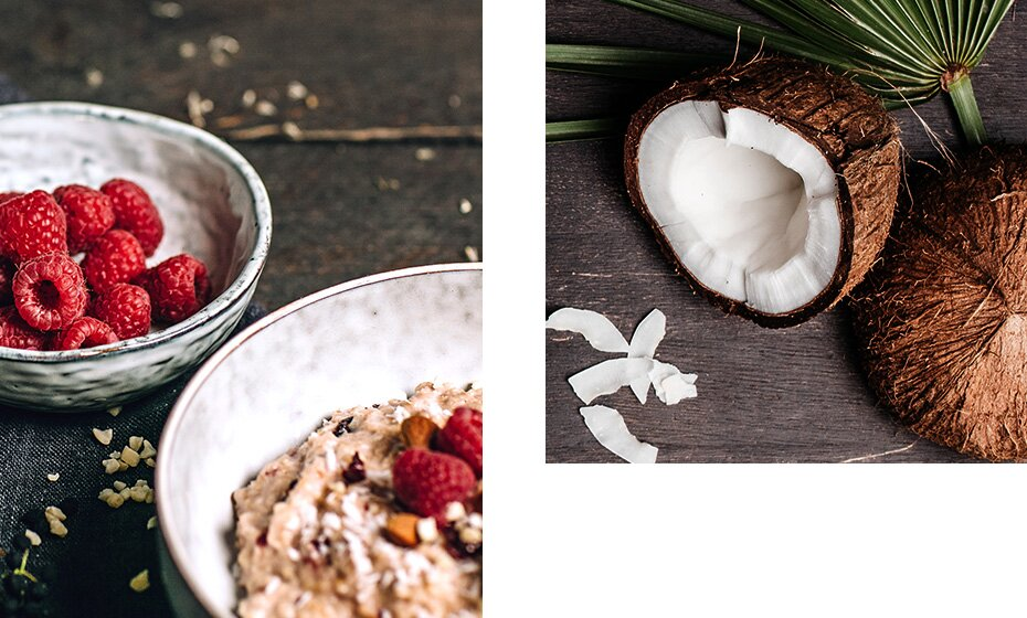 Woher stammen die Früchte in unserem Bio-Porridge.