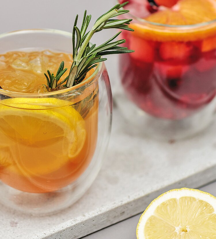 Ein echter Hingucker für Deine Gäste Deine Gäste... wie wäre es zum Beispiel mit Tee-Cocktails?