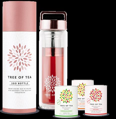 Probiere doch mal unsere Bio-Tee zum Mitnehmen.