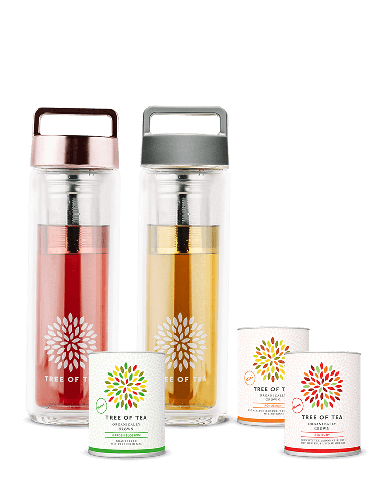 Tea 2go Set mit 3 Teeminis