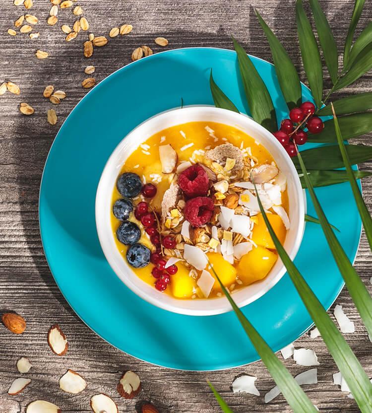 laktosefreies Früchte-Granola
