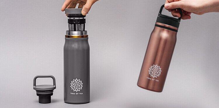 Roségold oder Mattgru – für welche Bottle entscheidest Du Dich?