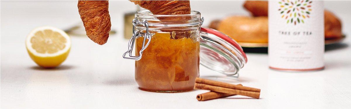 Rooibos-Orangen-Marmelade mit Roi Lemon